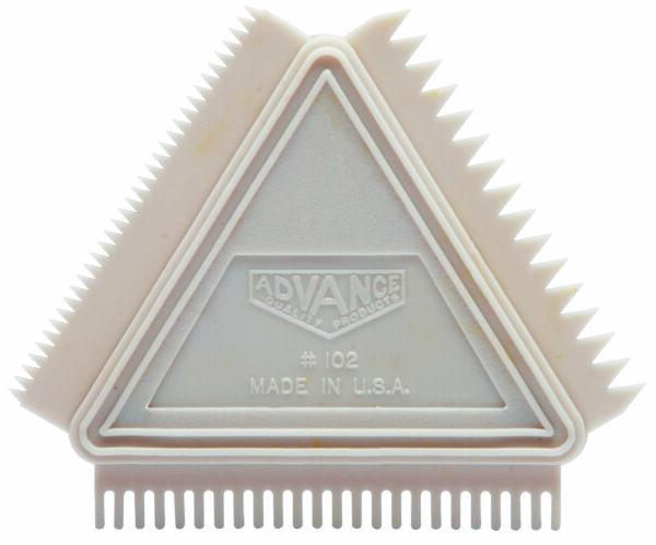 102 Graining Comb Rubber
